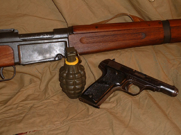 French CEFEO Weapons